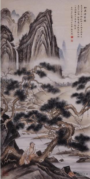 松树叶的画法大全 简笔画柳树的画法 中国画荷花的画法