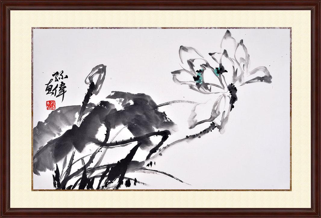 黑白画花卉大全