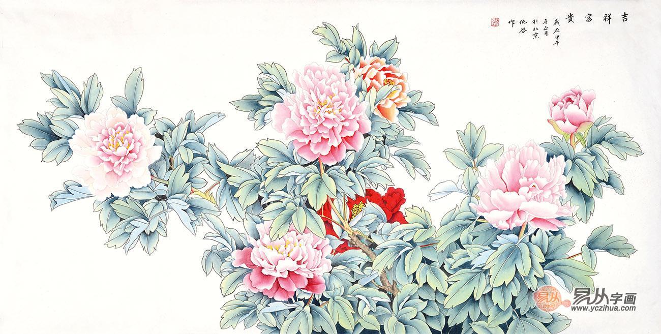 国画名家仇谷花鸟画清新雅致 风采卓然的名人字画收藏