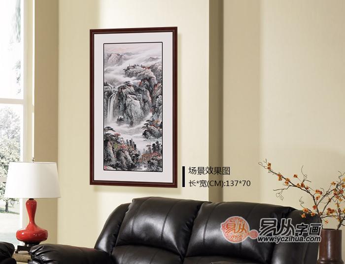 家中客厅里适合挂什么画?