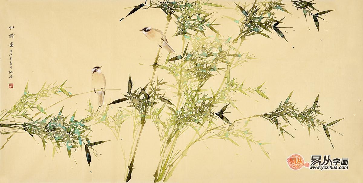 当代花鸟画欣赏 花鸟画图片 名人字画 写意花鸟画图片