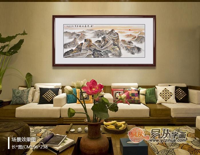 沙发背景墙挂画禁忌有哪些