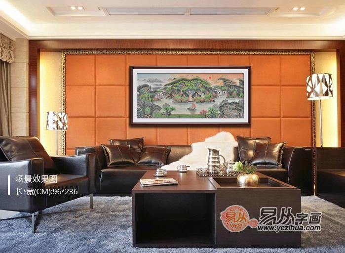 大客厅背景墙效果图 客厅装饰画的选择