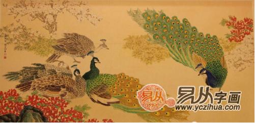 大会堂挂过哪些国画 国画花鸟画的艺术之美